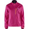 Haglöfs W's Shield Jacket VOLCANIC PINK/ACAI B